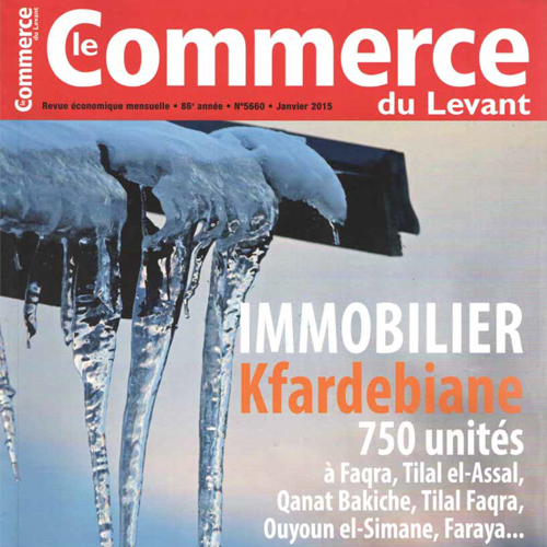 EDW - Kfardebiane article - Le Commerce - Jan 2015