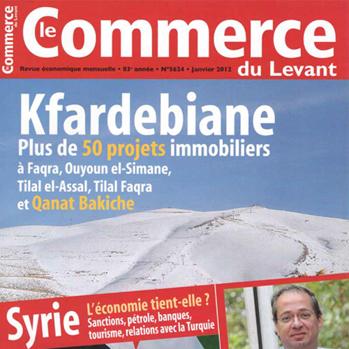 Le Commerce - Jan 2012 - EDW - Faqra article
